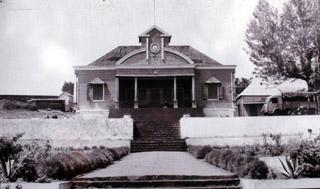 Ancien Hôtel de ville du Tampon La Réunion.