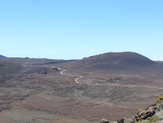 Route Plaine des Sables La Réunion.