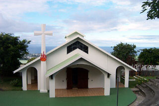 Carmel Notre Dame du Grand Large Les Avirons île de La Réunion.