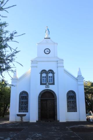 Église de l'immaculée Conception Les Avirons île de La Réunion.