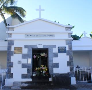 Mausolée du Père Martin aux Avirons La Réunion