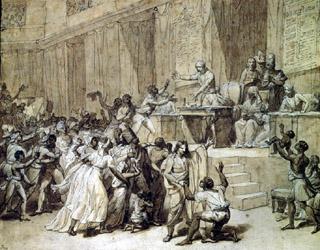 Abolition de l'esclavage par la convention du 4 février 1794