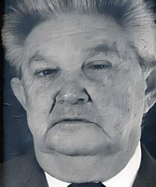 Irénée Accot maire de Cilaos en 1965