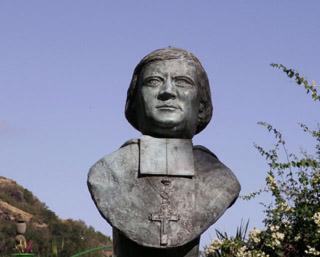 Buste Alexandre Monnet à Saint-Paul île de La Réunion