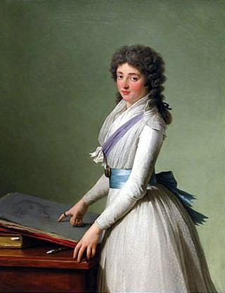 Portrait de la Baronne de Chalvet-Souville