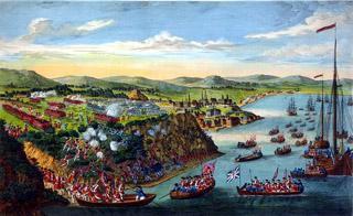 Bataille des Plaines d'Abraham à Québec