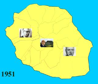 Carte législatives 1951 La Réunion