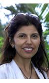 Massimah Dindar, présidente du conseil général de La Réunion