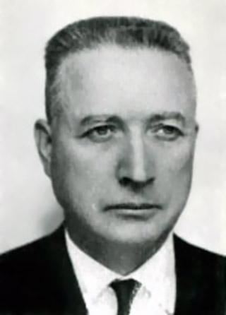 Frédéric de Villeneuve élu député en 1958