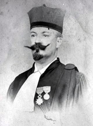 Georges Richard, Maire de Saint-Denis La Réunion 1893 - 1896