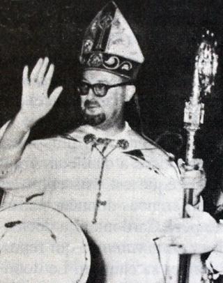 Monseigneur Guibert évêque de La Réunion