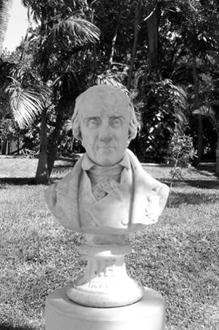 Buste de Joseph Hubert.