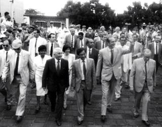 André Thien Ah Koon avec jacques Chirac
