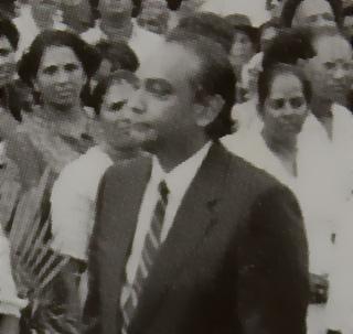 Louis Virapoullé sénateur de La Réunion de 1974 à 1992