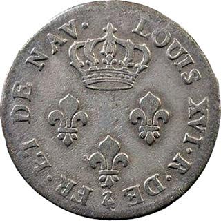 Monnaie : Pièce de 3 sols 1779, Bourbon et île de France