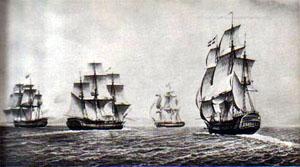 Navires de La Compagnie des Indes