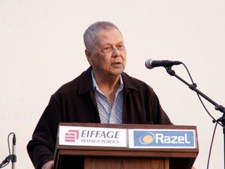 Paul Vergès à La Réunion en 2007
