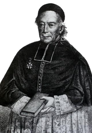 Père Minot, curé de Saint-André