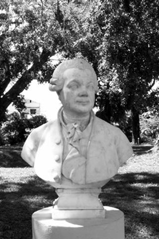 Pierre Poivre. Décès en 1786