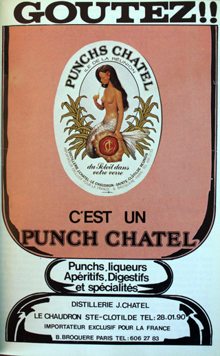 Publicité Punch Chatel