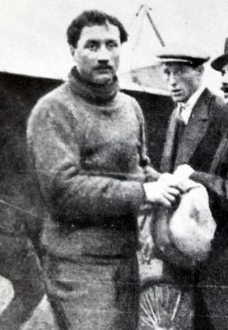 Roland Garros le 28 décembre 1912.