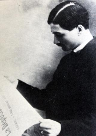Roland Garros en décembre 1912.