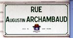 Rue Archambaud Saint-Pierre