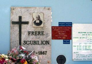 Mausolée de Frère Scubilion à Saint-Marie