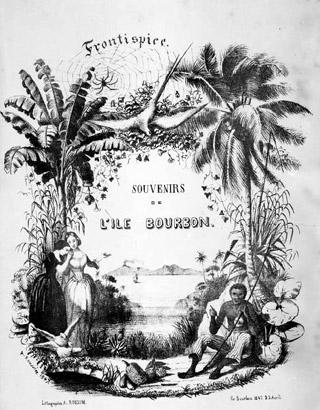 Souvenirs de l'île Bourbon Antoine Roussin