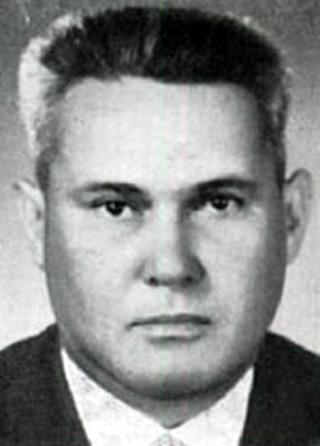 Valère Clément élu député en 1958