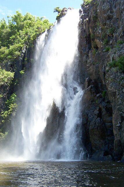 Cascade Niagara Sainte-Suzanne île de La Rénuion
