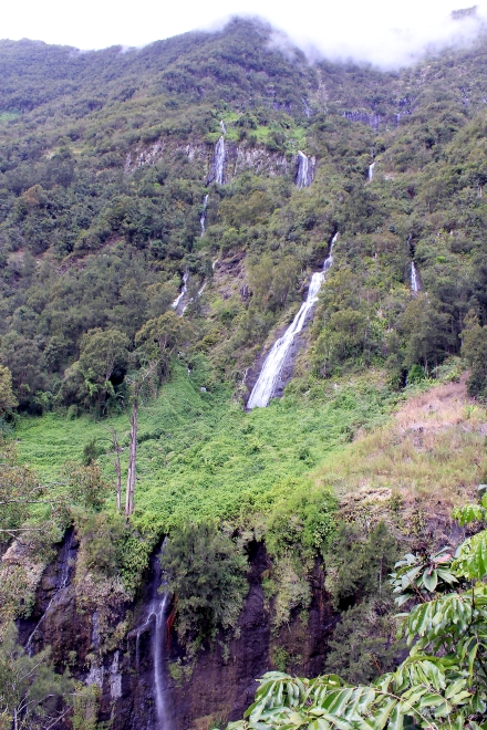 Cascase Voile de la Mariée Salazie La Réunion