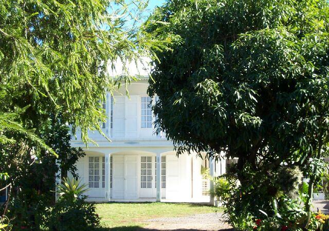 Case créole à Saint-Paul île de La Réunion