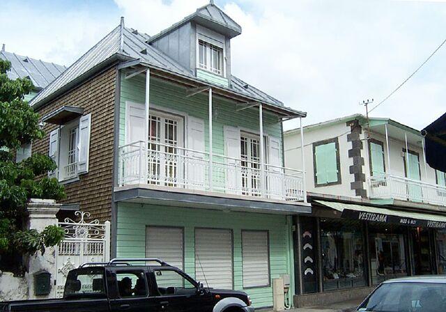 Case créole Saint-Denis La Réunion