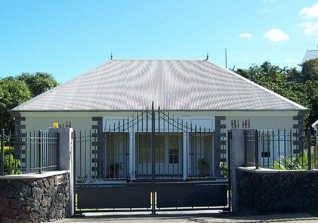 Case créole à Saint-Joseph La Réunion