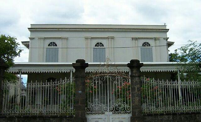 Maison Repiquet rue de Paris à Saint-Denis de La Réunion