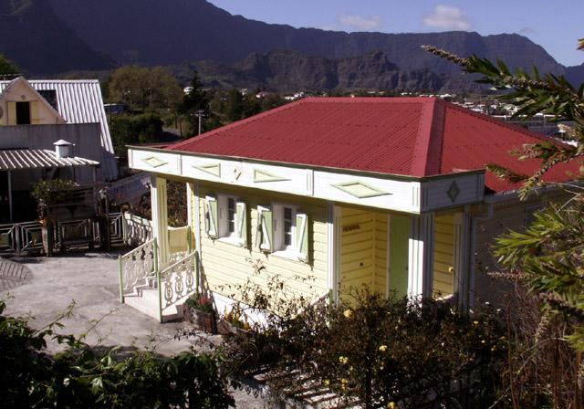 Case Cilaos île de La Réunion