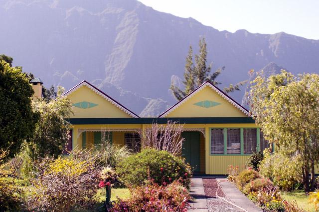 Case, maison à  Cilaos île de La Réunion