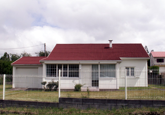 Case créole Bourg-Murat île de La Réunion