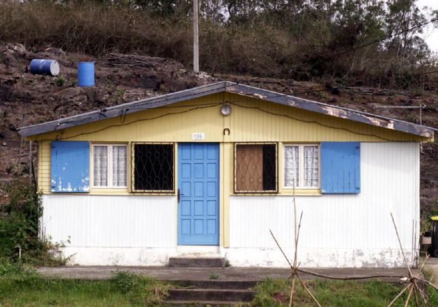 Case créole commune du Tampon île de La Réunion