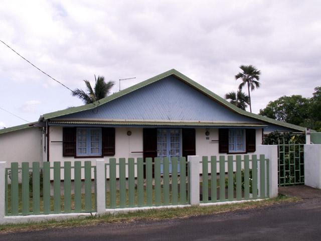 Case Manapany-les-bains. La Réunion.