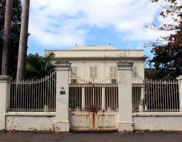 Maison Barbot 51 rue de Paris Saint-Denis La Réunion.