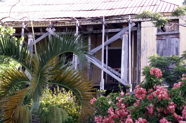 Maison Choppy dite aussi école Saint-Charles Saint-Pierre La Réunion