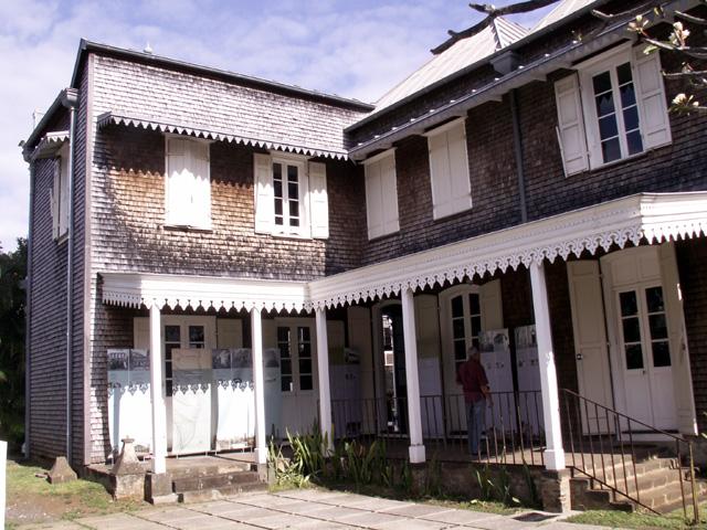 Côté de la Maison Déramond Barre à Saint-Denis La Réunion