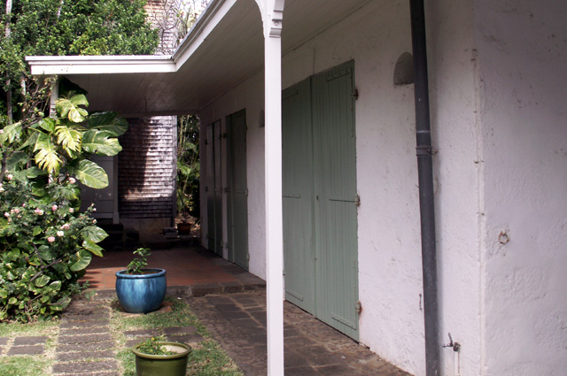 Ancienne écurie Maison Déramond Saint-Denis