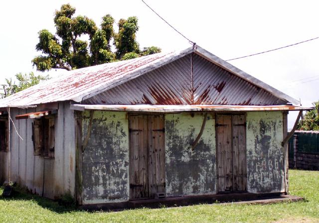Maison, case créole village de l' Abondance commune de Saint-Benoit île de La Réunion