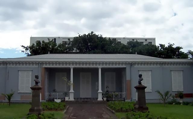 Palais Rontaunay Saint-Denis île de La Réunion