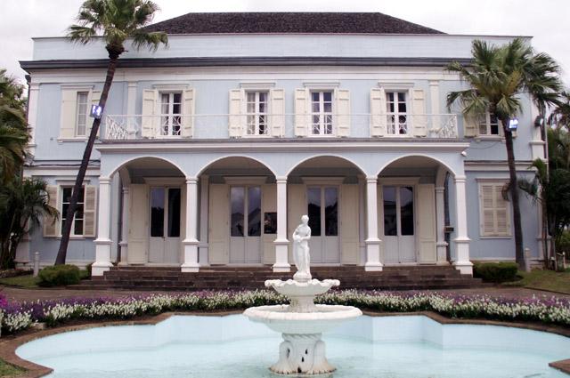 Villa du Département façade rue de Paris