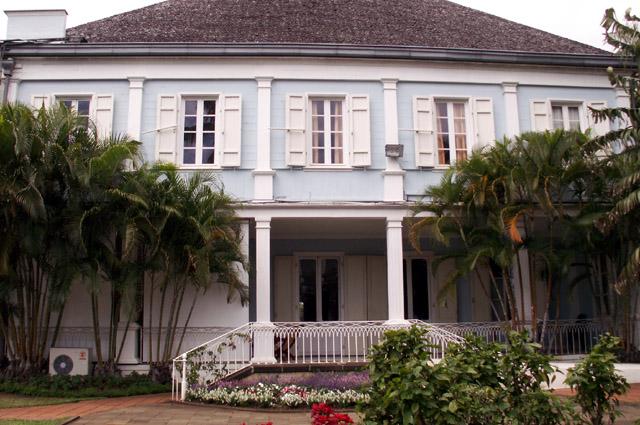Villa du Département façade Sud