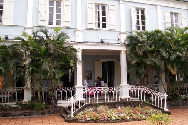 Villa du Département façade Nord